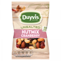 Duyvis Unsalted nutmix cranberry 30 gram