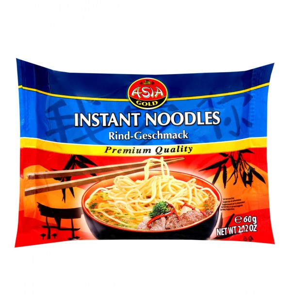 Asian Gold instant noodles beef