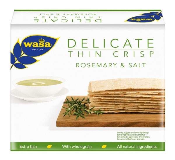 Wasa rosemary crackers