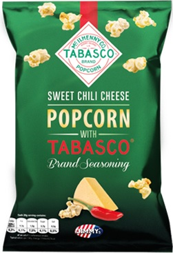 JIMMY'S popcorn Tabasco sweet chili cheese