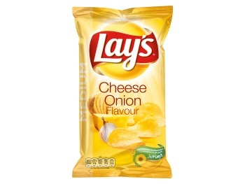 Lay's Chips Cheese Onion 120 gram