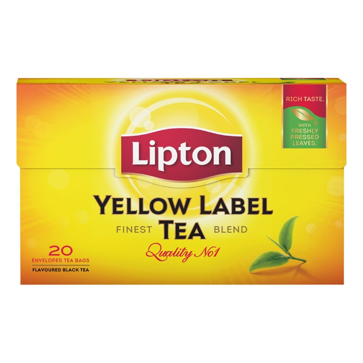 Lipton tea Yellow label